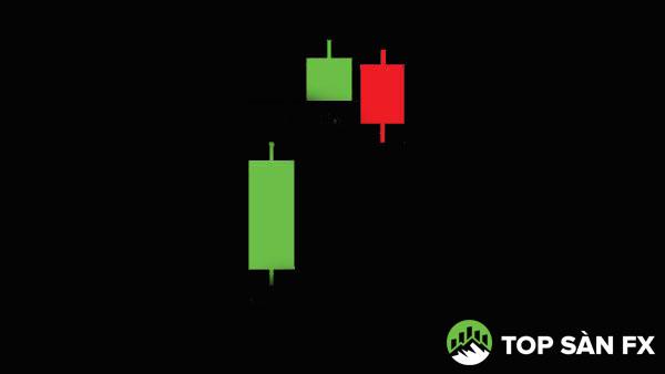 Mô hình nến tiếp diễn Gap tăng Tasuki: